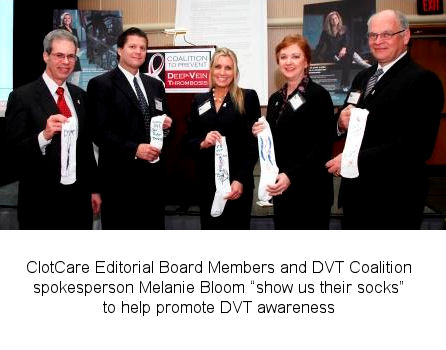 Deep Vein Thrombosis (DVT) Awareness Month: DVT Awareness by Design Socks